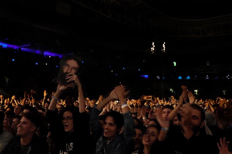Plateia do Los Hermanos em São Paulo