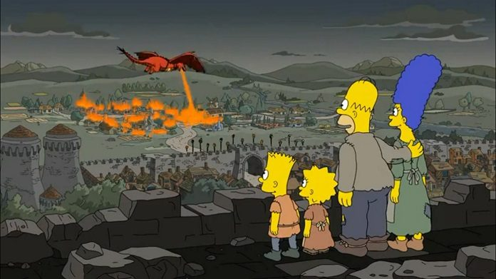 Os Simpsons acertam previsão sobre Daenerys em