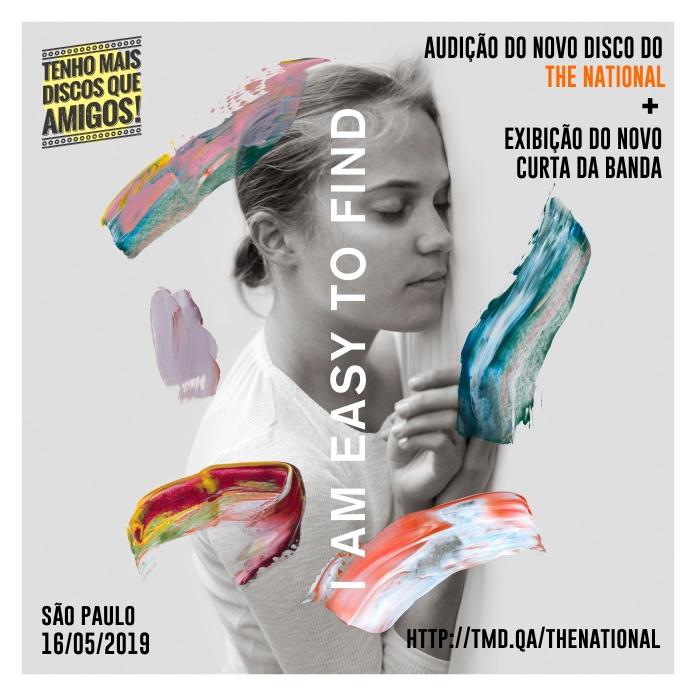 The National: audição de disco e exibição do curta