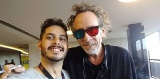 Tim Burton em Brasília