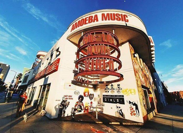Amoeba Music em Hollywood