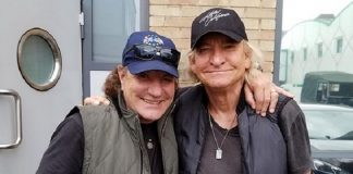Brian Johnson e Joe Walsh