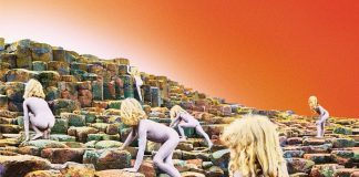 Capa de Houses of the Holy, do Led Zeppelin