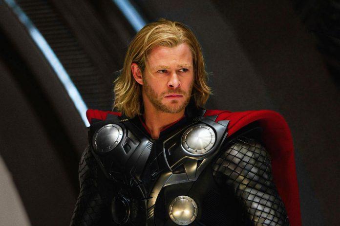 Chris Hemsworth em Thor 1