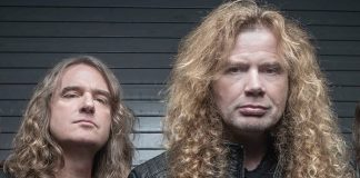David Ellefson e Dave Mustaine (Megadeth)
