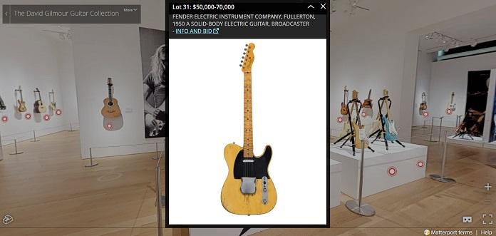 David Gilmour Guitar Collection 2