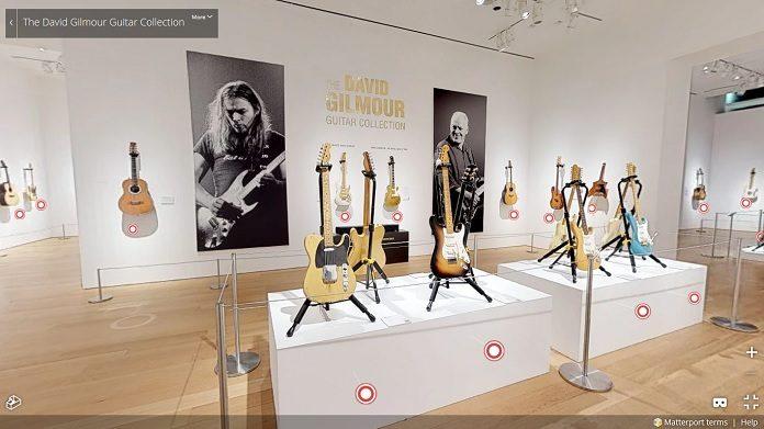 David Gilmour Guitar Collection