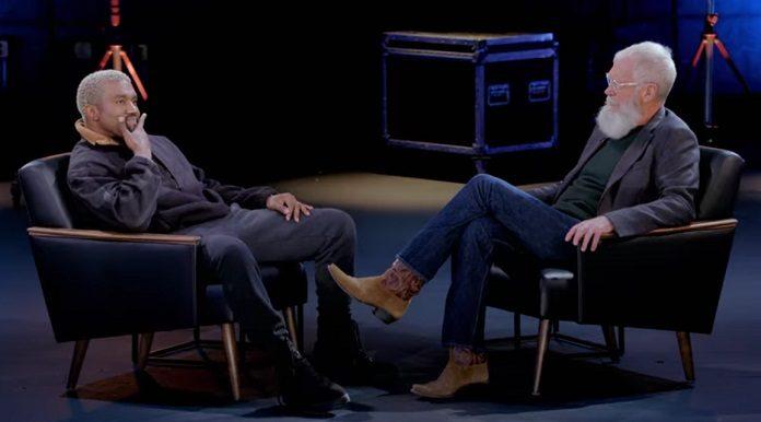 David Letterman entrevista Kanye West para a Netflix