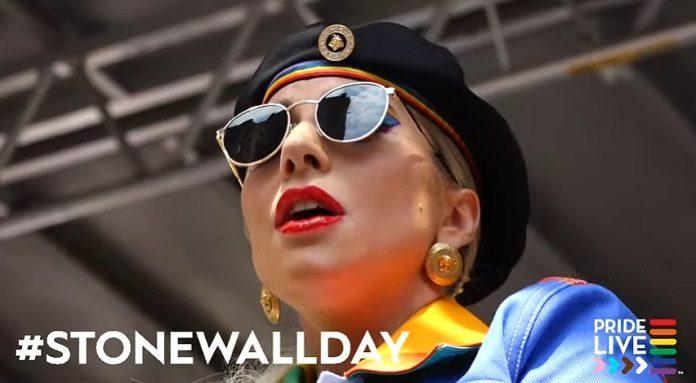 Lady Gaga em Stonewall