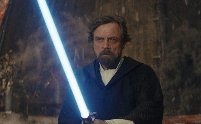 Luke Skywalker (Mark Hamill) em Star Wars