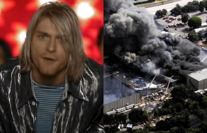 Nirvana Incêndio Universal Studios 2008