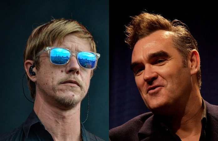 Paul Banks (Interpol) e Morrissey