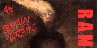 "Capa de ""Brain Drain"" (Ramones)"