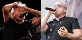 Roger Waters e David Draiman (Disturbed)