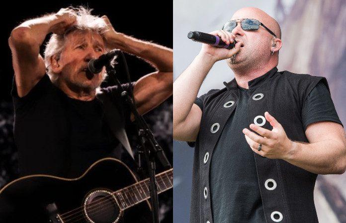 Roger Waters e David Draiman (Disturbed)