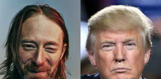 Thom Yorke e Donald Trump