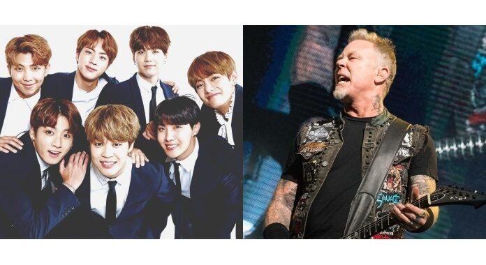 BTS e Metallica