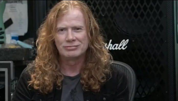 Agradecimento de Dave Mustaine em vídeo
