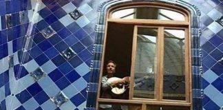 Eddie Vedder em Barcelona