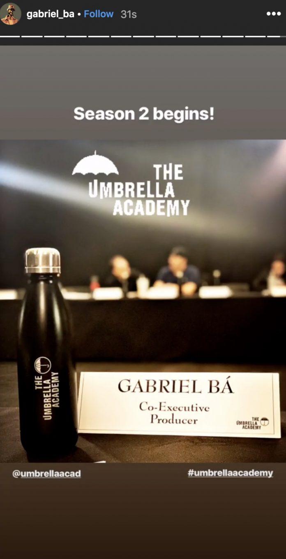 Produção da segunda temporada de The Umbrella Academy