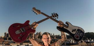 Harley Flanagan, baixista e vocalista do Cro-Mags