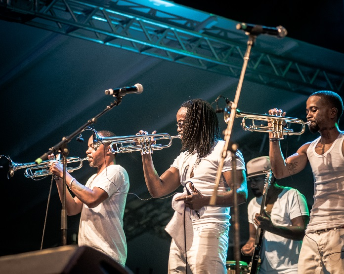 Hypnotic Brass Ensemble no Festival Queremos! 2019