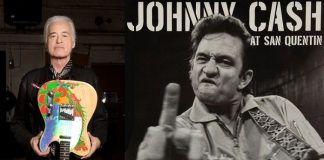 Jimmy Page e Johnny Cash