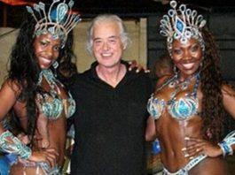 Jimmy Page no Rio de Janeiro