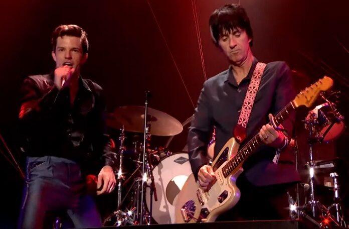 The Killers e Johnny Marr no Glastonbury 2019