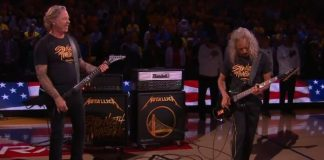 Metallica toca nas finais da NBA