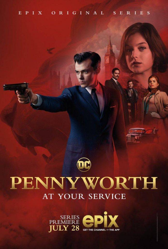 "Cartaz de ""Pennyworth"""