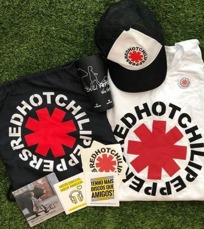 Kit do Red Hot Chili Peppers