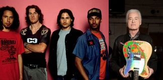 Rage Against The Machine e Jimmy Page
