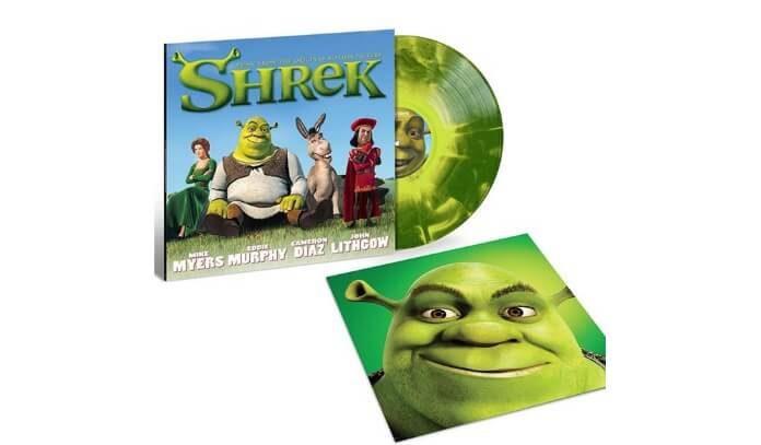 Trilha sonora de Shrek em Vinil