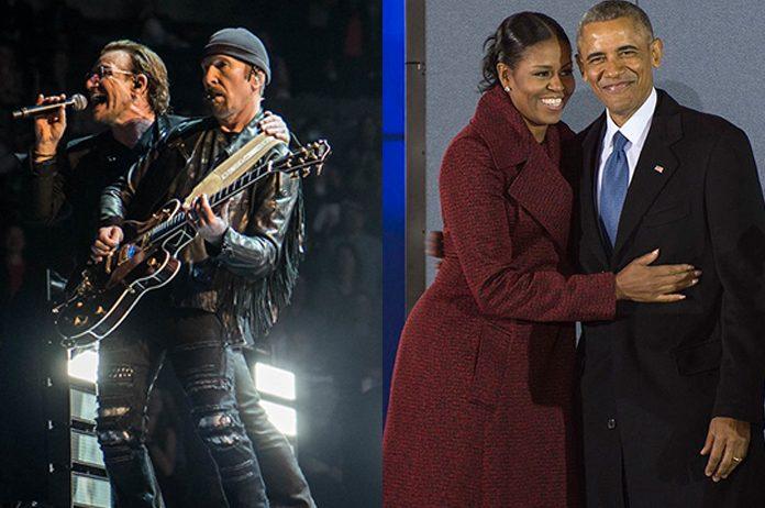 U2 e Obama