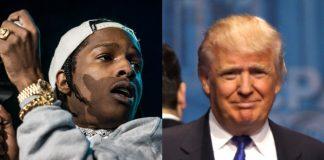 A$AP Rocky e Donald Trump