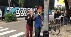 Alceu Valença músico de rua