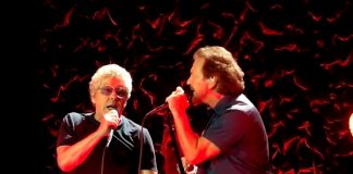 Eddie Vedder e The Who
