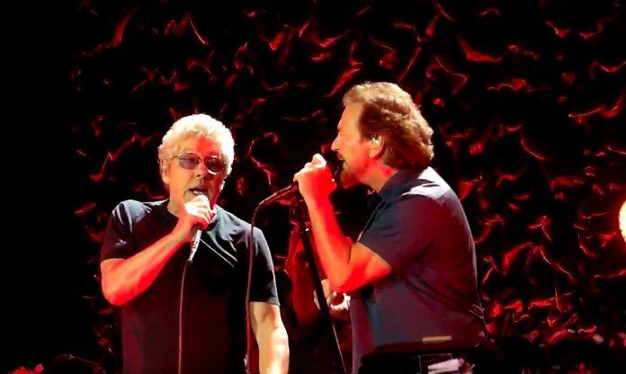 Eddie Vedder e The Who