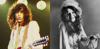Jimmy Page e Janis Joplin