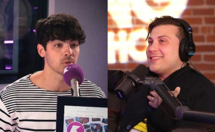 Joe Jonas e Frank Iero
