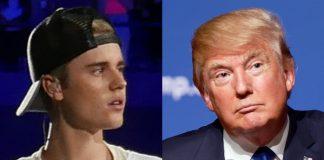 Justin Bieber e Donald Trump