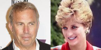 Kevin Costner e Princesa Diana