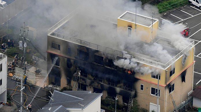 Kyoto Animation Incêndio