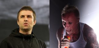 Liam Gallagher e Keith Flint