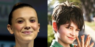 Millie Bobby Brown e Kevin Kevin Vechiatto