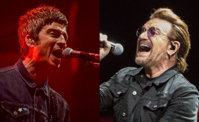 Noel Gallagher e Bono