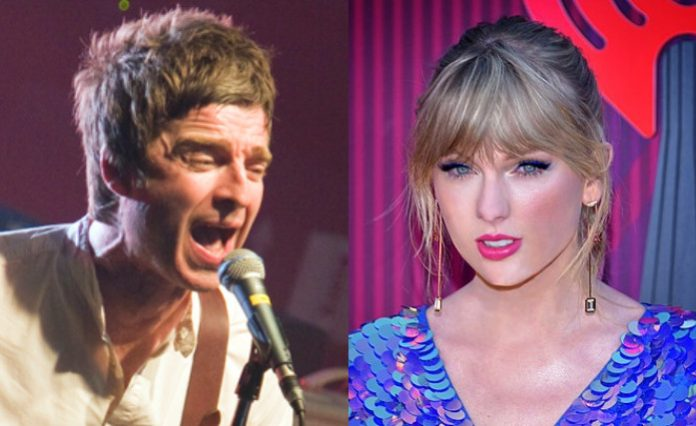 Noel Gallagher e Taylor Swift
