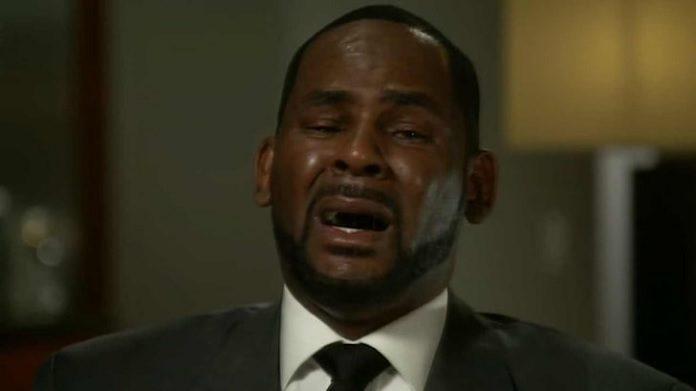 R. Kelly chorando kkkk