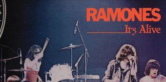 Ramones - It's Alive capa